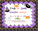 Trick or Speak: Articulation Sentences Pack (R,S,L,SH,CH,TH)