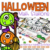 Halloween Math Stations
