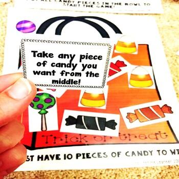 Trick or Treat 2 Digit by 2 Digit Multiplication Halloween Game