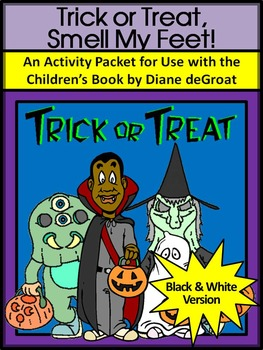 Trick or Treat, Smell My Feet Halloween Language Arts Acti