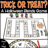 Trick or Treat:  Beginning Blends Game