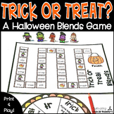 Halloween Blends Activity