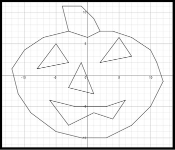 Trick or Treat - 45 Systems & Coordinate Graphing Activity - Challenge Version