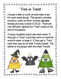 Trick or Treat - A Halloween Literacy Game