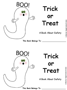 Trick or Treat (A Halloween Safety Book)
