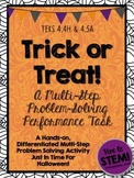 Trick or Treat Math! A Halloween Multi-Step Problem Solving Performance Task
