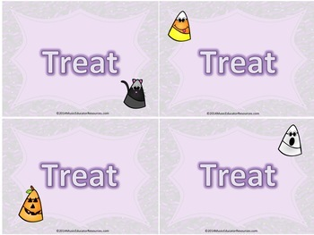 Trick or Treat; A Musical Game