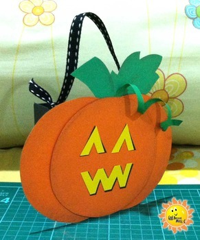 Trick or Treat! A candy bag craft for Halloween.