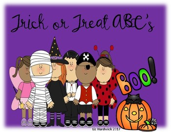 Trick or Treat ABC's