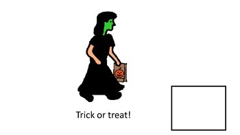 Trick or Treat Adapted Book