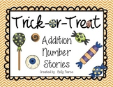 Trick-or-Treat Addition Number Stories