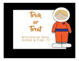 Trick-or-Treat: Articulation Story /t/