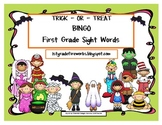 Trick or Treat BINGO