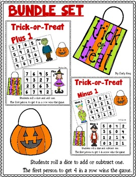 Trick-or-Treat BUNDLE SET ~ Plus One Minus One