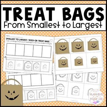 Trick-or-Treat Bags - From Smallest to Largest