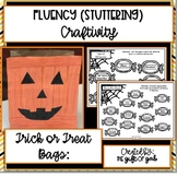 Trick or Treat Bags: Stuttering Craftivity