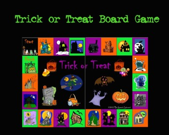 Trick or Treat Board Game