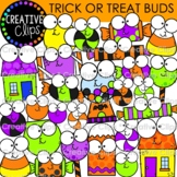 Trick or Treat Buds {Halloween Clipart}