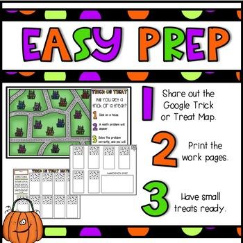 Trick or Treat Bundle-Halloween Math Activities/Halloween Math Games