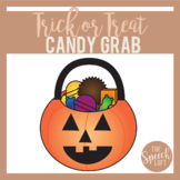 Trick or Treat Candy Grab | ARTICULATION & LANGUAGE ACTIVITY