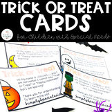 Trick or Treat Cards for Children with Autism