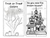 Trick or Treat Emergent Reader Color Words