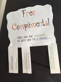 Trick or Treat Compliments Bulletin Board Package!