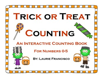 Trick or Treat Counting: Halloween Number Book