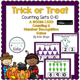 Trick or Treat Counting Sets to 10 BOOM CARDS