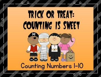 Halloween Math: Trick or Treat, Counting is Sweet