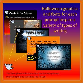 Trick or Treat: Creative Writing Prompts for Halloween Writing