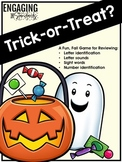 Trick or Treat? Editable Game for Reviewing Letters, Sounds, Numbers and More!