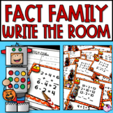 Fact Family Fall Write the Room Activity