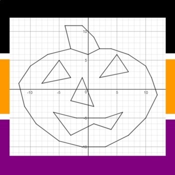 Trick or Treat - Finding Vertices - 5 Math-Then-Graph Activities