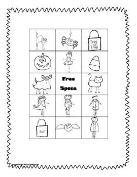 Trick or Treat!  Freebie Fun Game for Kindergarten