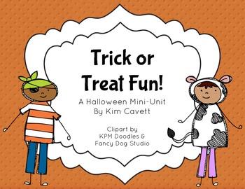 Trick or Treat Fun: K/1 Activities