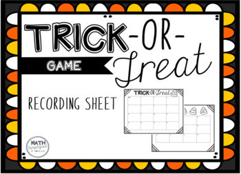 Trick-or-Treat Halloween Game: Decimal Word Problems