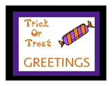 Trick-or-Treat: Greetings