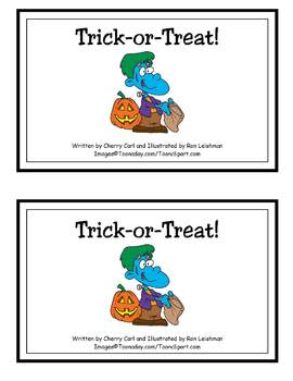 Trick-or-Treat! Guided Reading Halloween Book