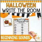 Halloween Beginning Sounds Write the Room