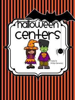 Trick or Treat Halloween Centers