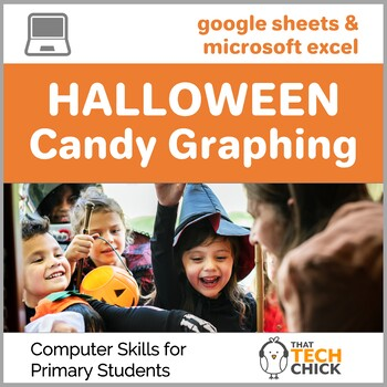 Trick or Treat!  Halloween Computer Graphing for Primary Kids