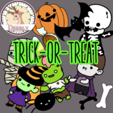 Trick-or-Treat! Halloween (Deerly Clipart)