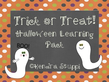 Trick or Treat! Halloween Learning Set