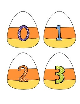 Trick or Treat Halloween Math Centers