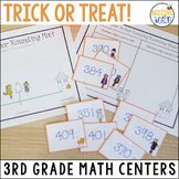 Trick or Treat! Halloween Math Centers: Add, Subtract, Compare, Round