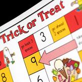 Trick or Treat Halloween Math Game
