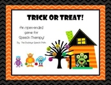 Trick or Treat Halloween Open-Ended Game