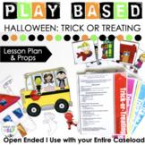 Halloween Themed Play-Based Preschool Speech Therapy Activity