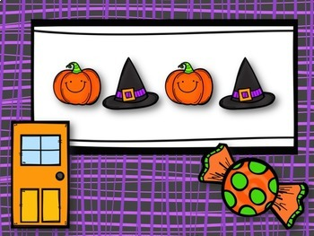 Trick or Treat! Halloween Rhythm Game for Quarter Note & Two Eighth Notes